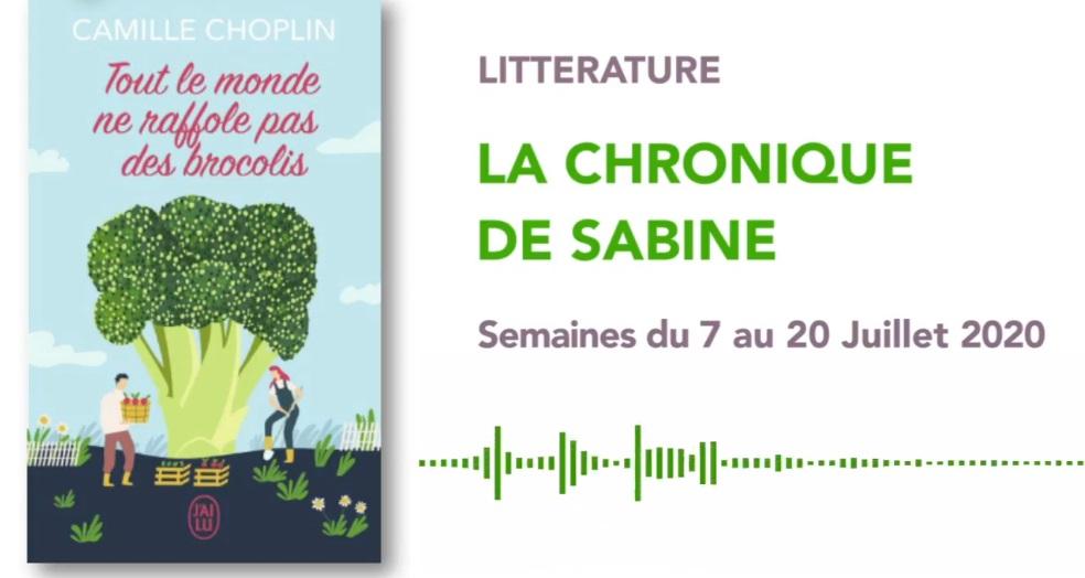 La Chronique de Sabine du 11 Juillet 2020