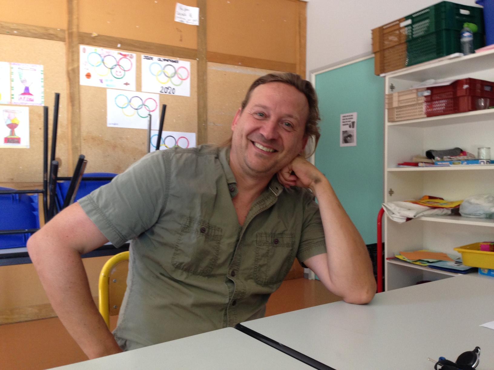 Bertrand Adam, directeur du service jeunesse de la ville de Manosque