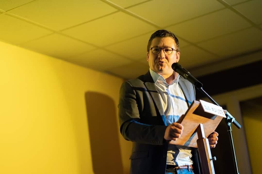 Arnaud Murgia, maire actif et volontaire