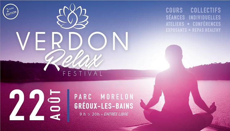 Verdon Relax Festival, c'est ce samedi à Gréoux-Les-Bains