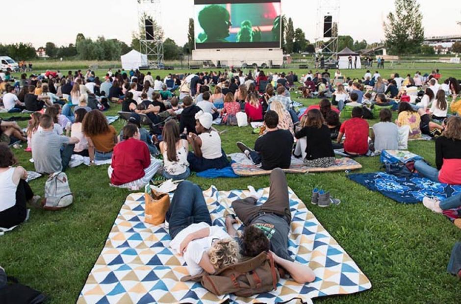 Profitez du cinéma en plein air dans le Briançonnais !