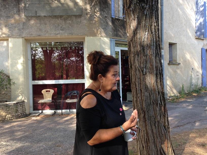 Jasmine Jovanovic, coordinatrice éducative au domaine d'auroué
