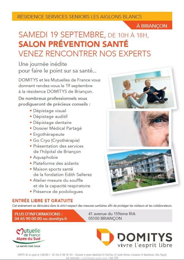 Un salon prévention santé, venez prendre soin de vous !
