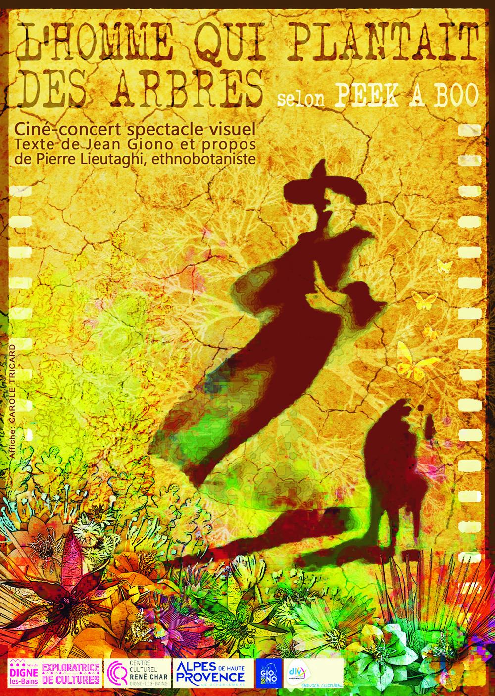 un spectacle ciné-concert sur des textes de Giono