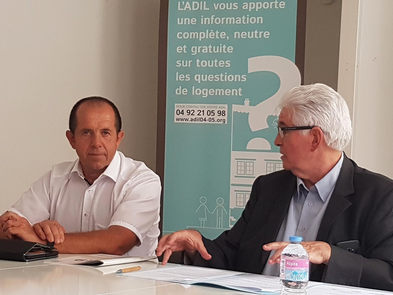 Gérard Tenoux et René Massette