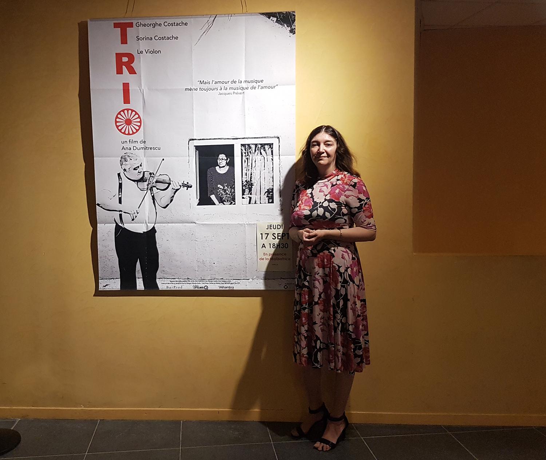 """La cinéaste Ana Dumitrescu était à Digne pour la présentation du film """"Trio"""""""