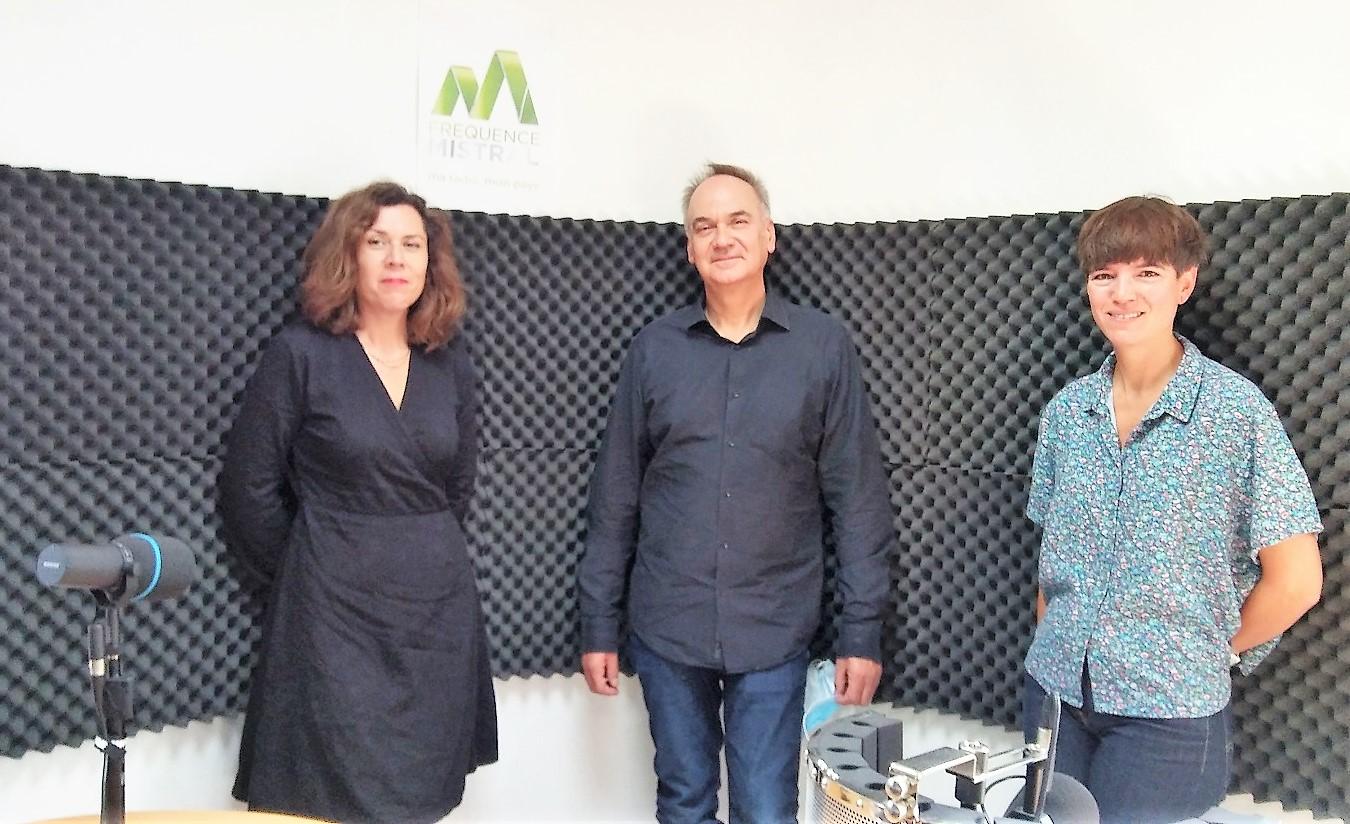 Clémentine Mélois,  Hervé Le Tellier  et Colombe Boncenne
