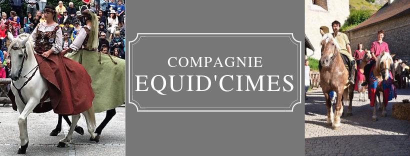 Un spectacle vivant et équestre dans les Hautes Alpes avec la Compagnie Equid'Cimes