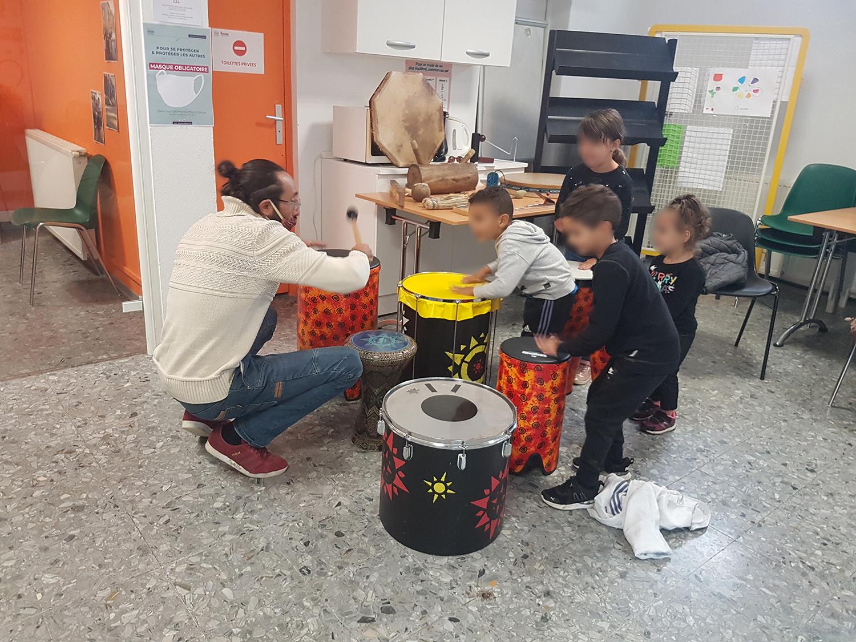 du 26 au 30 octobre ateliers d'initiations aux pratiques musicales et contées
