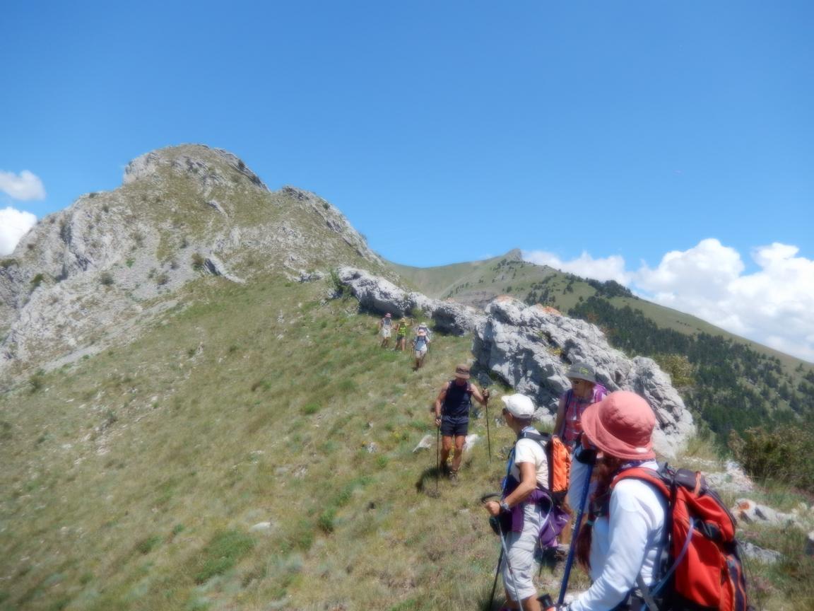 La randonnée à son association dans les Hautes-Alpes