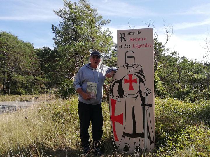 Suivez le chevalier Borgandion, guide patrimonial d'Artuby-Verdon