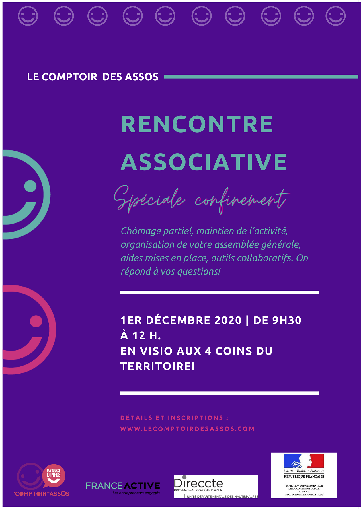 Rencontre Associative – Spéciale confinement !