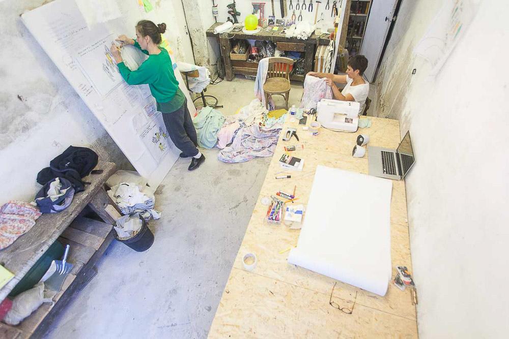 Un atelier d'artistes gratuit et ouvert à tous