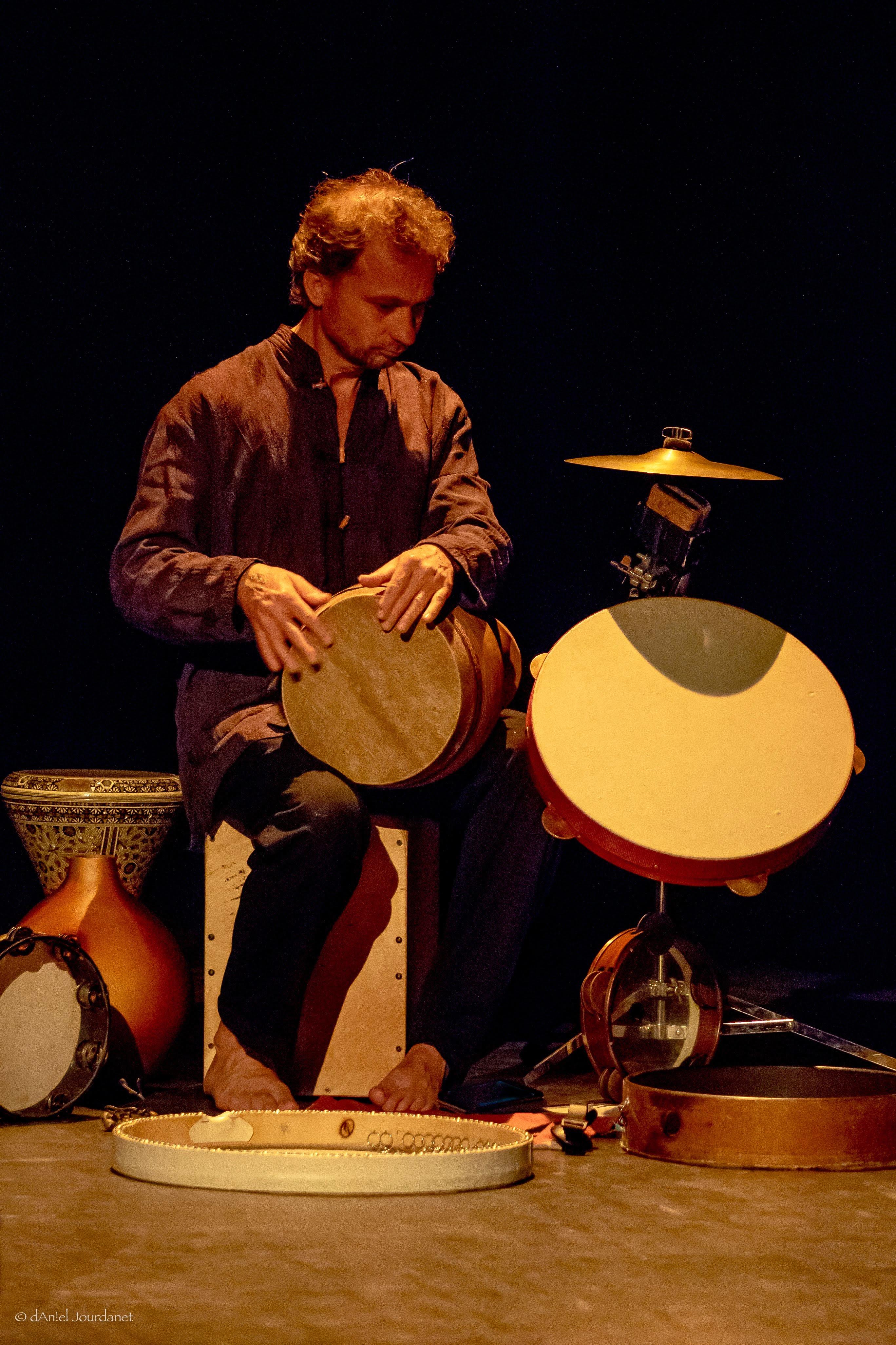 Rencontre avec Mathias Autexier percussionniste