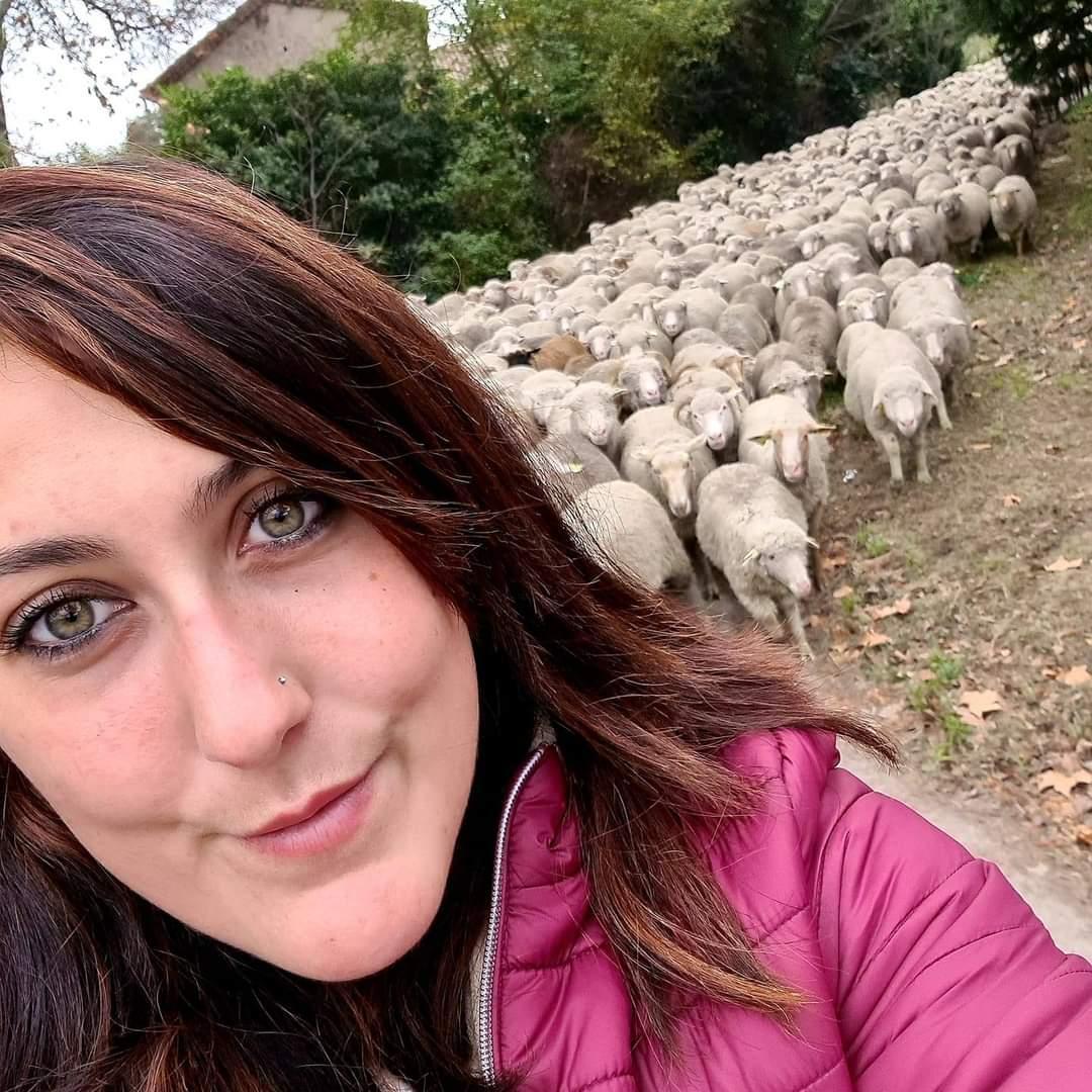 Valériane, participe au concours de miss France agricole 2021