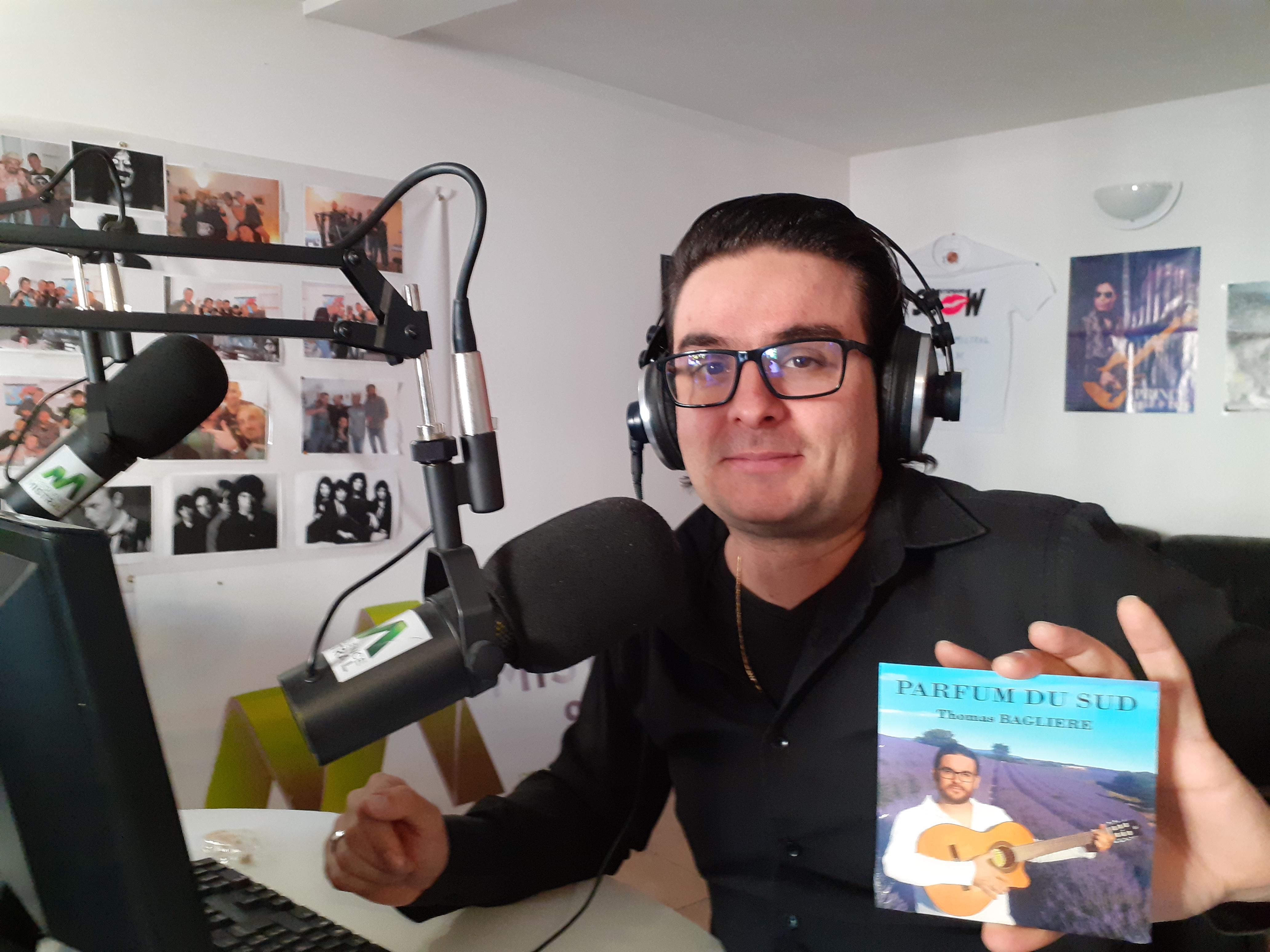 ''Parfum du sud'' : nouvel album pour Thomas Baglière !