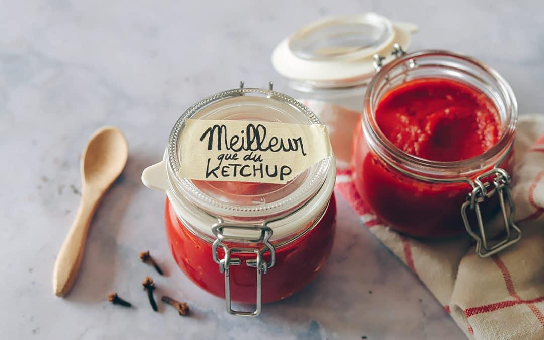 Le ketchup maison, c'est possible !