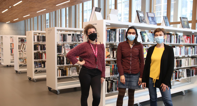 Julie, Amélia et Catherine - La Ruche