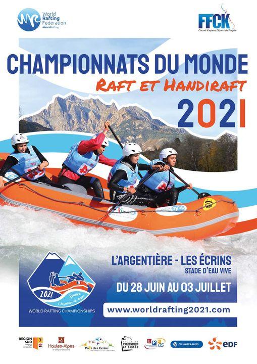 Les championnats du Monde de Raft et Handi-raft 2021 dans les Hautes Alpes