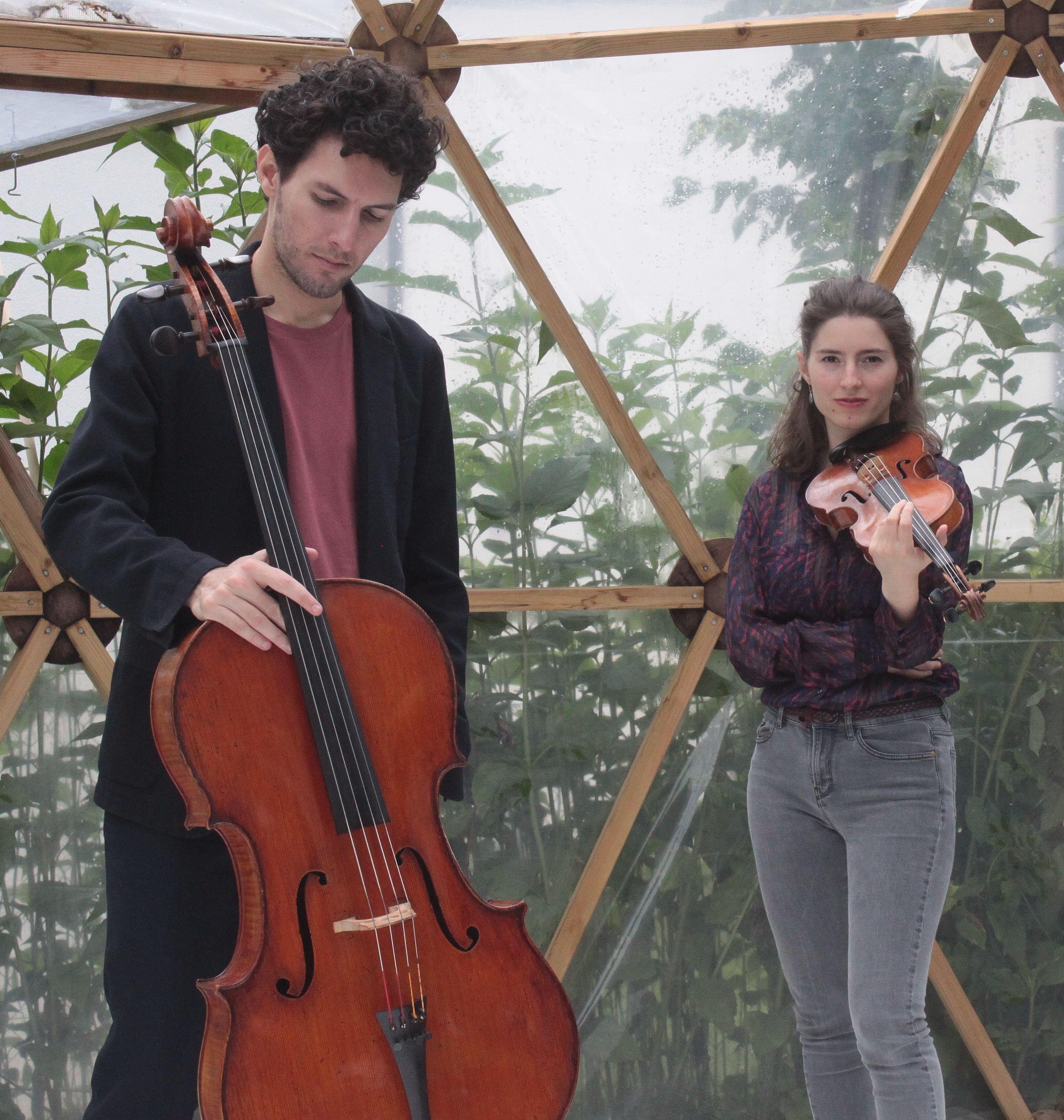 """""""Artistes en Présence"""" Live : Anna Göckel et Daniel Mitnitsky"""