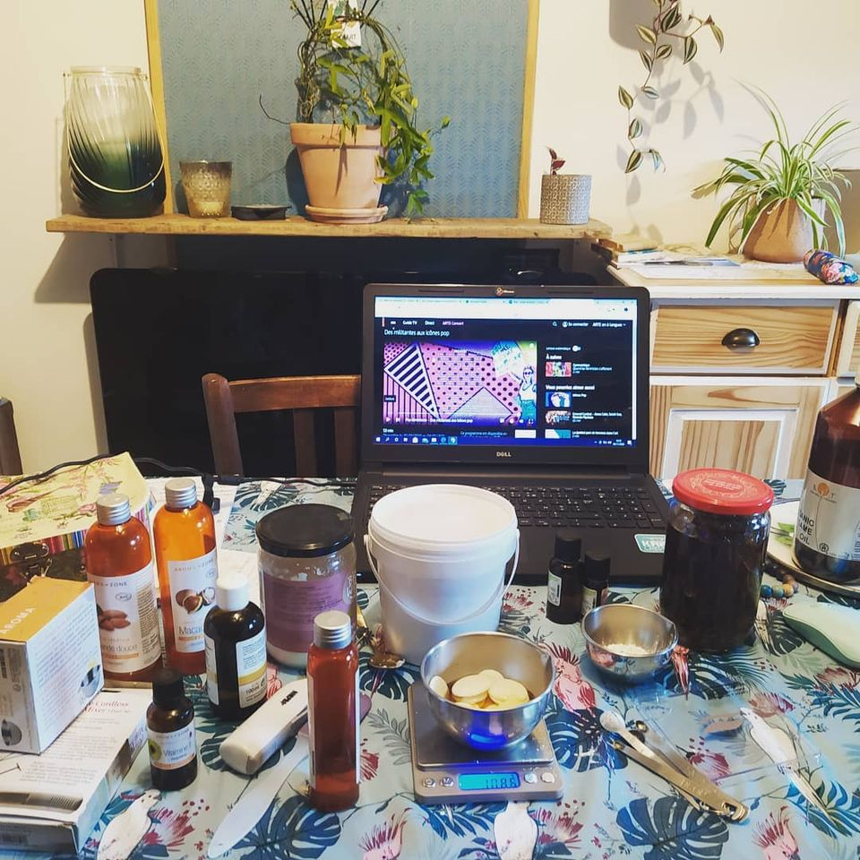 Des ateliers cosmétiques DIY