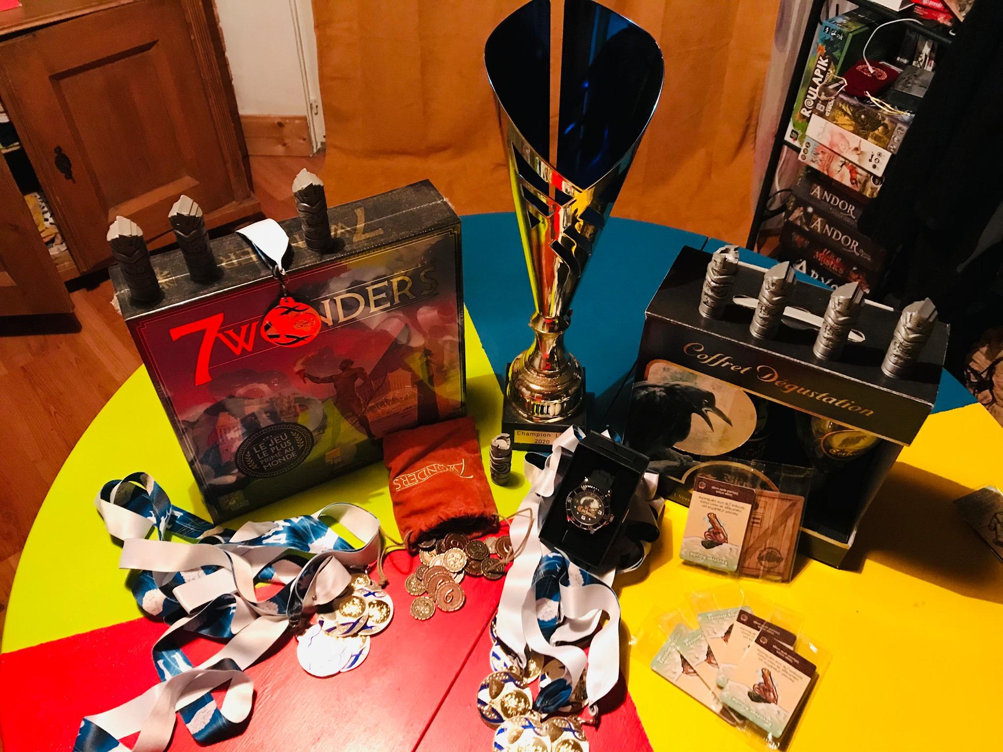 Le Ludisport: Un championnat de jeux de société