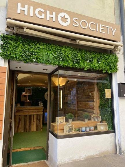 High Society ouvre un magasin CBD à Briançon