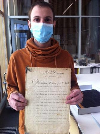 Arnaud Gangneux - Responable des Archives Municipales Briançon