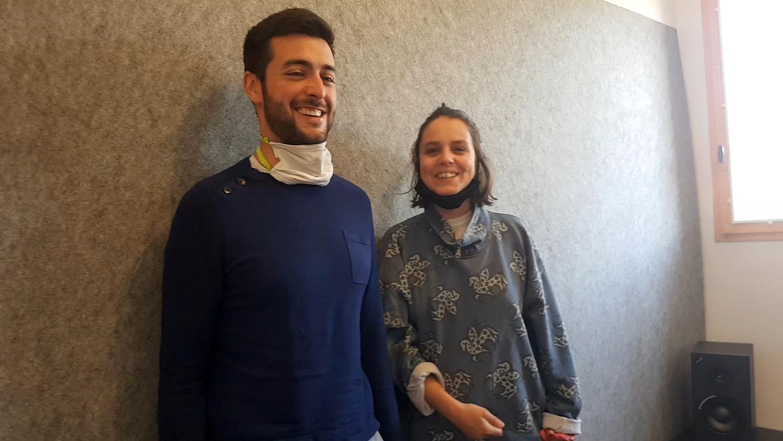Adrien Béjot et Léa Longo