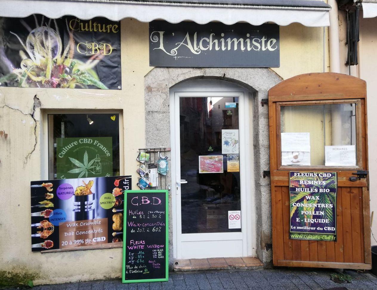 A Castellane, la boutique de l'Alchimiste propose du CBD