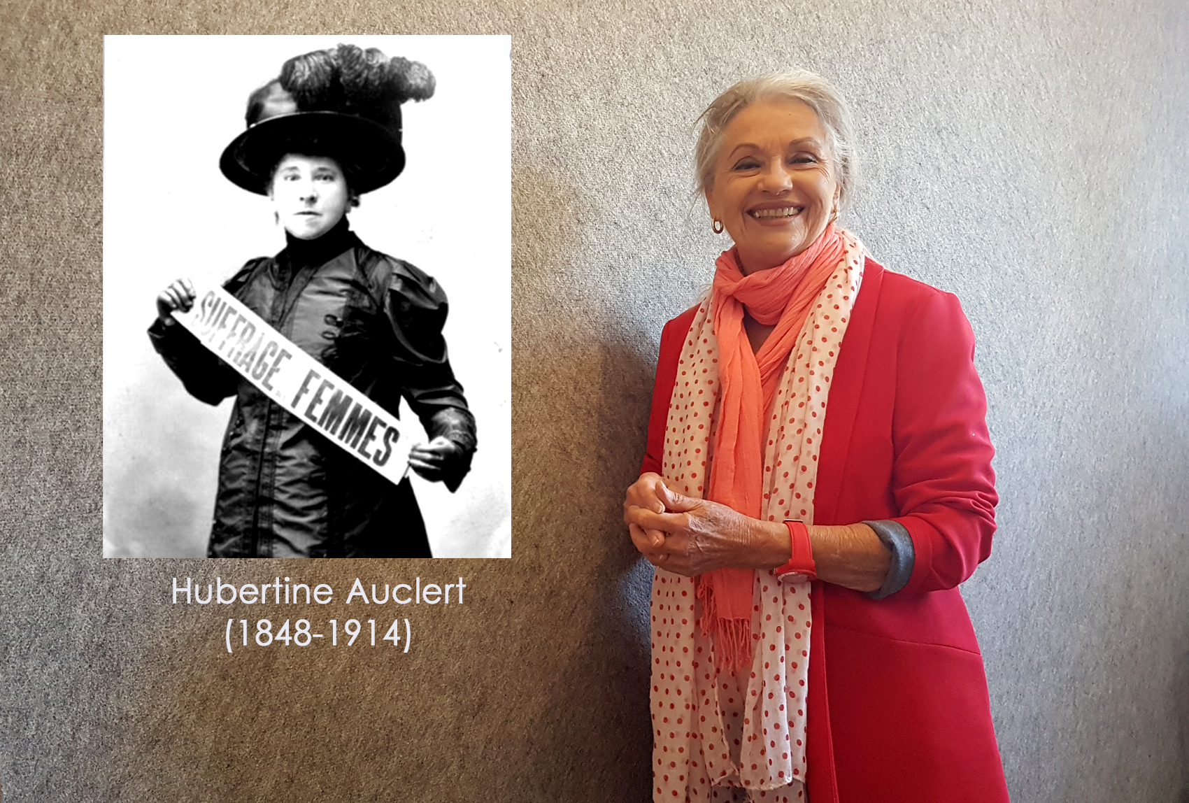 Hubertine Auclert et Jacqueline Hennegrave