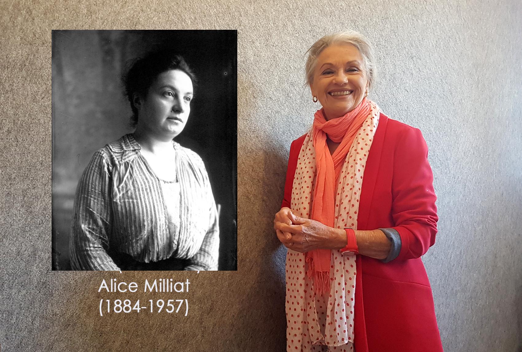 Alice Milliat (1884-1957) Sportive et Jacqueline Hennegrave