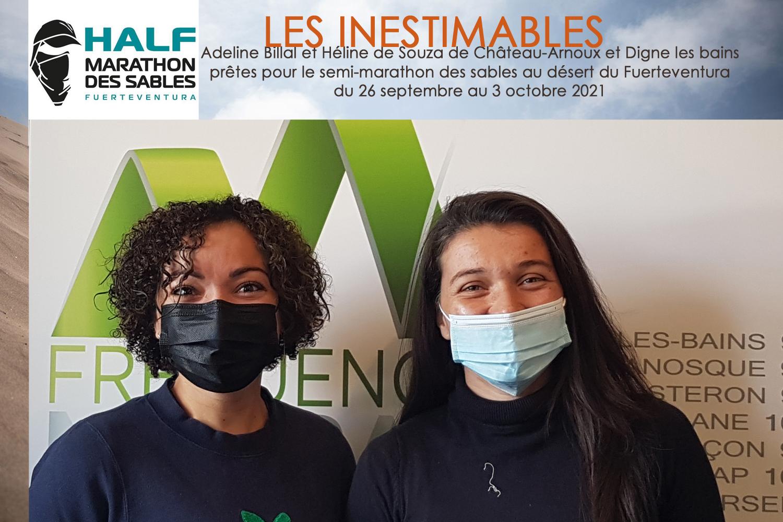 Adeline Billal et Héline de Souza