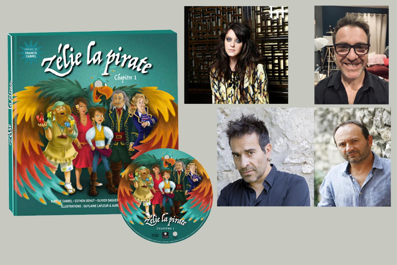 Zélie la pirate, un conte musical créé par Aurélie Cabrel et son équipe