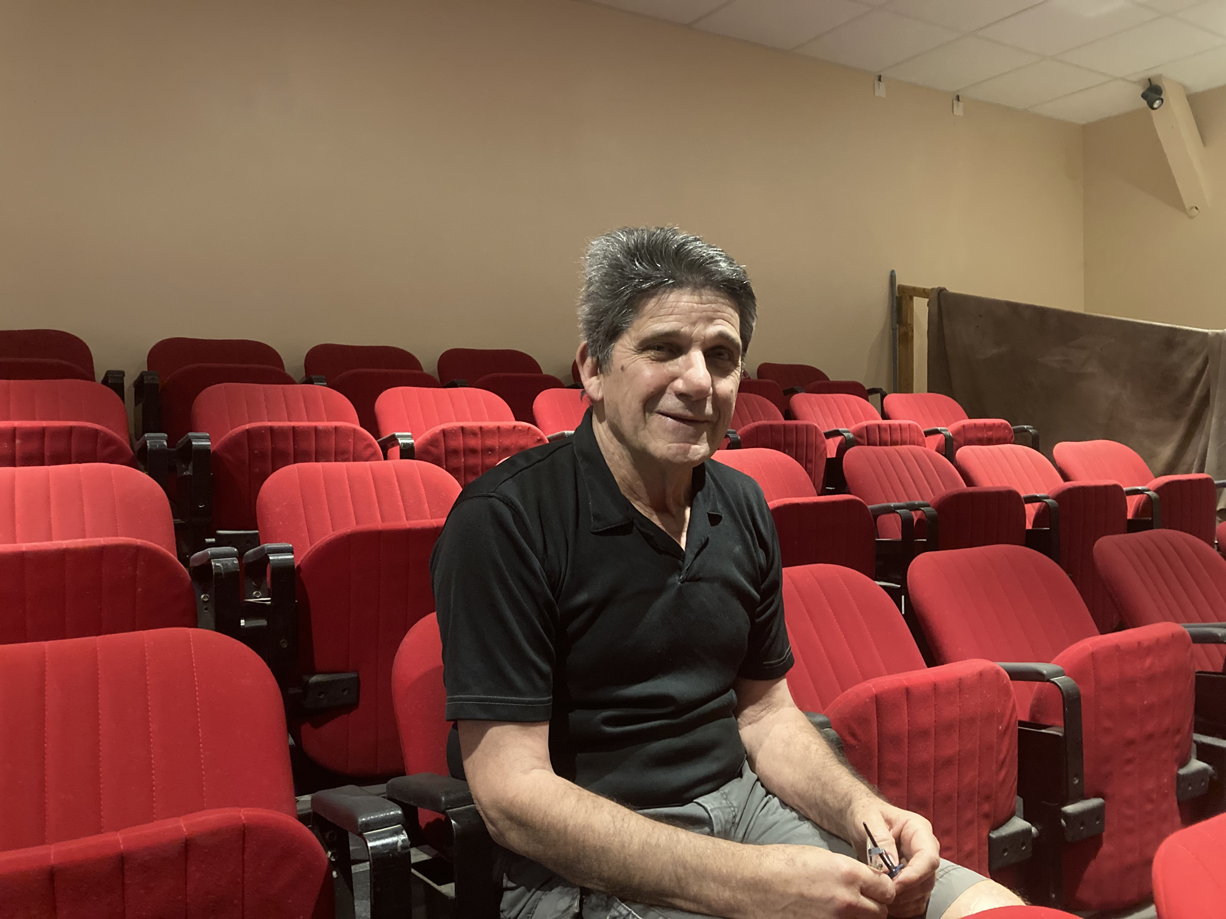 Dominique Zamparini, le président de l'association Rires Sourires.