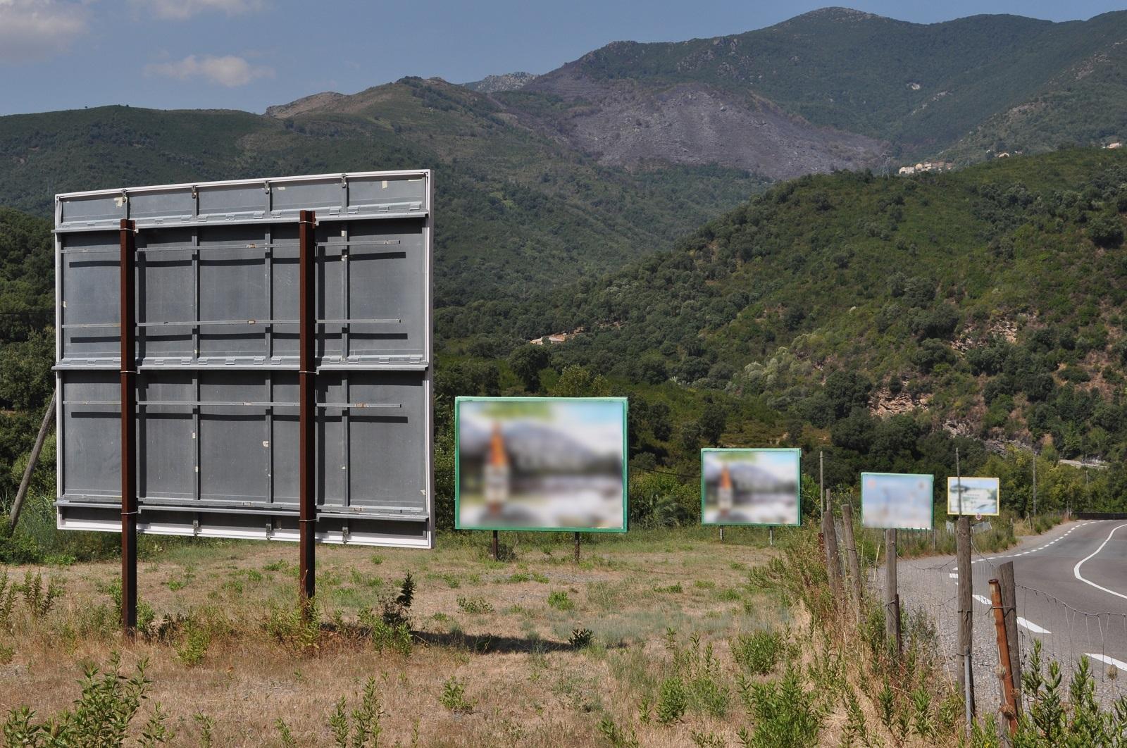 Le paysage face à l'invasion publicitaire
