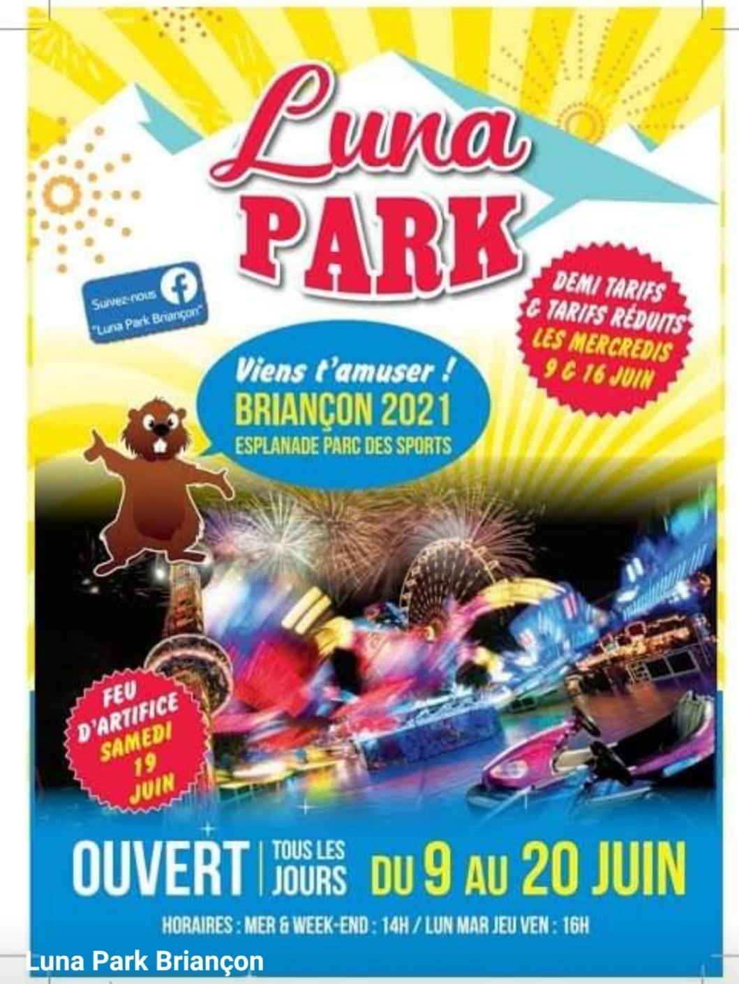 Le Luna park Briançon est de retour : des attractions pour tous !