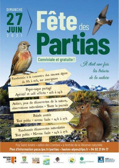 La Fête des Partias : Un événement convivial et riche en découvertes de la nature !