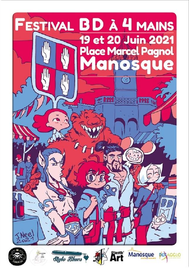 BD À QUATRE MAINS : le tout premier festival dédié au neuvième art à Manosque