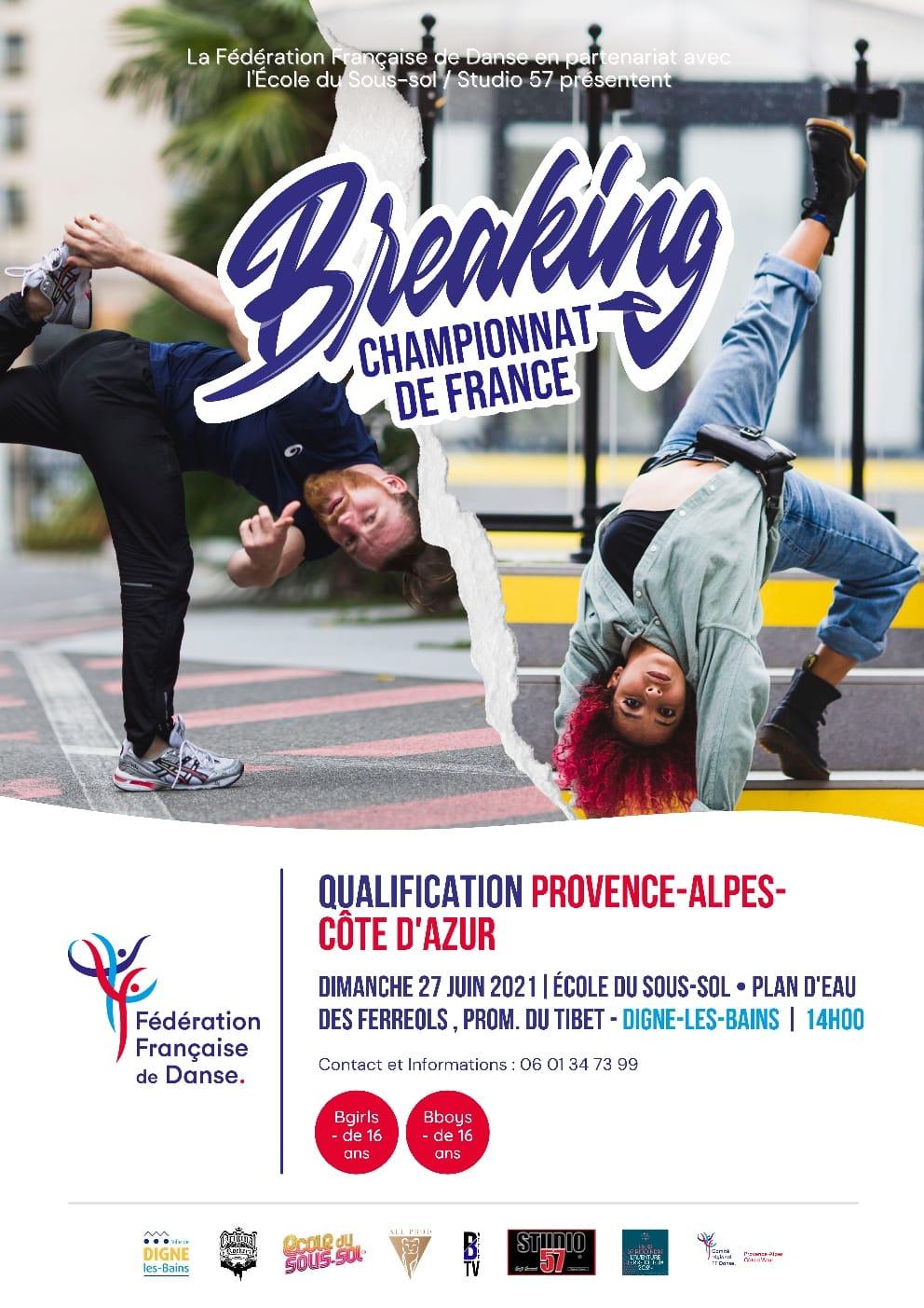 Break Dance championnat de France au plan d'eau des Férréols
