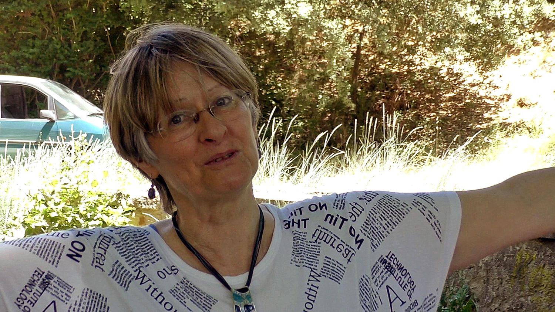 Edith Thénot comédienne mais aussi poètesse