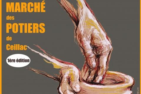première édition du marché des potiers de Ceillac
