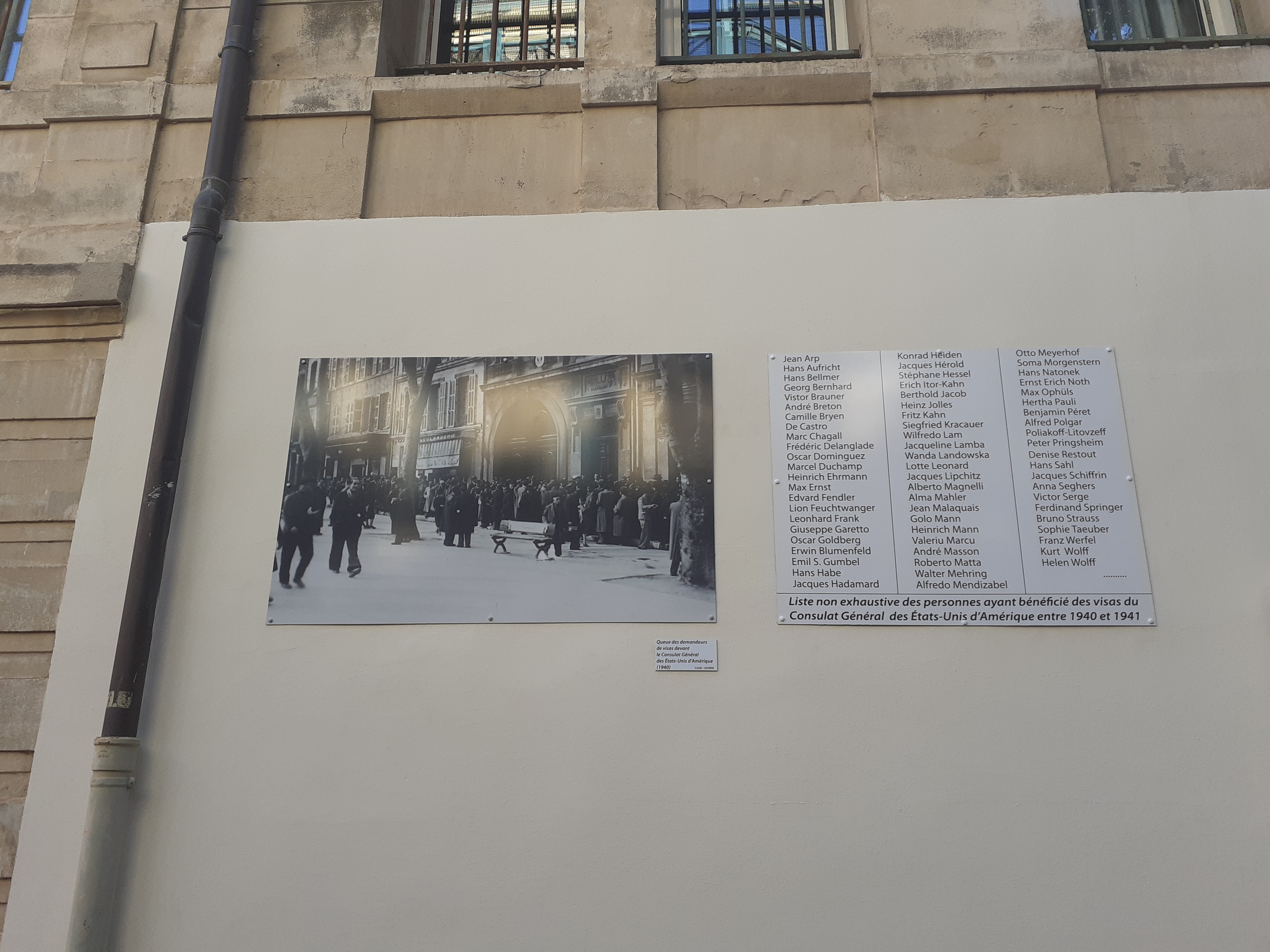 PROJET VILLA  AIR BEL #3 : INAUGURATION D'UNE EXPOSITION AU LYCEE MONTGRAND