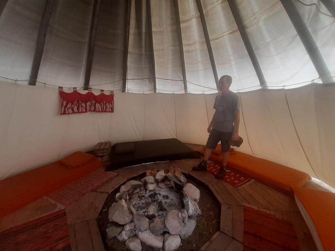 Embarquez votre tribu pour un séjour insolite en tipi