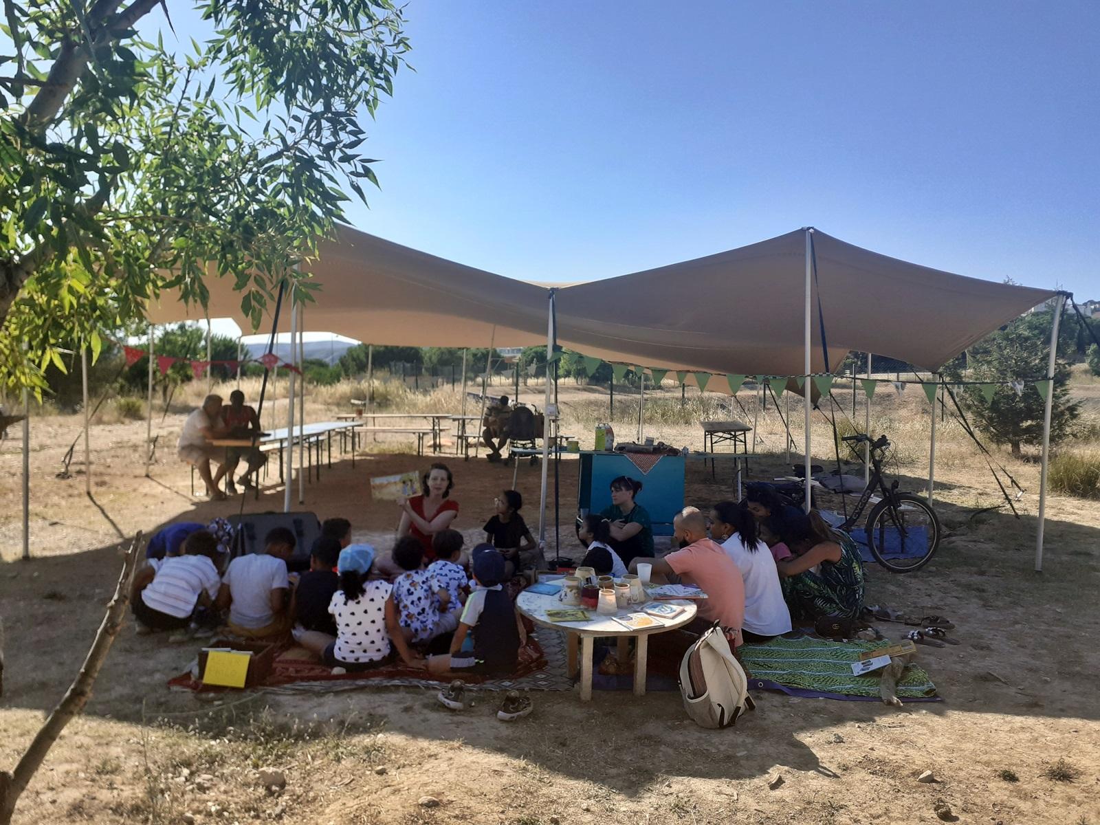 Une bibliothé nomade... entre mer et merveille !