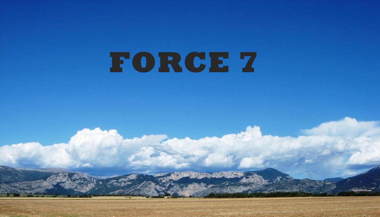 FORCE 7 DU 23 juillet 2021
