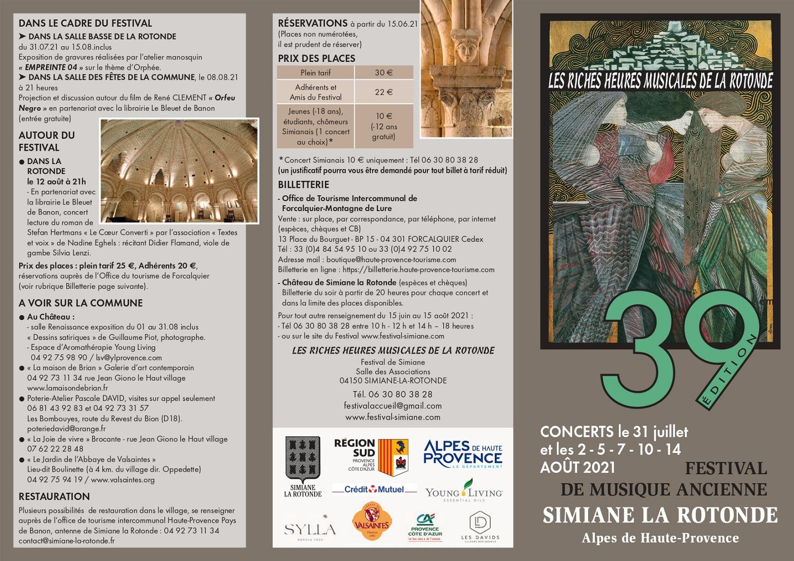 Simiane-la-rotonde prépare son festival de musique ancienne
