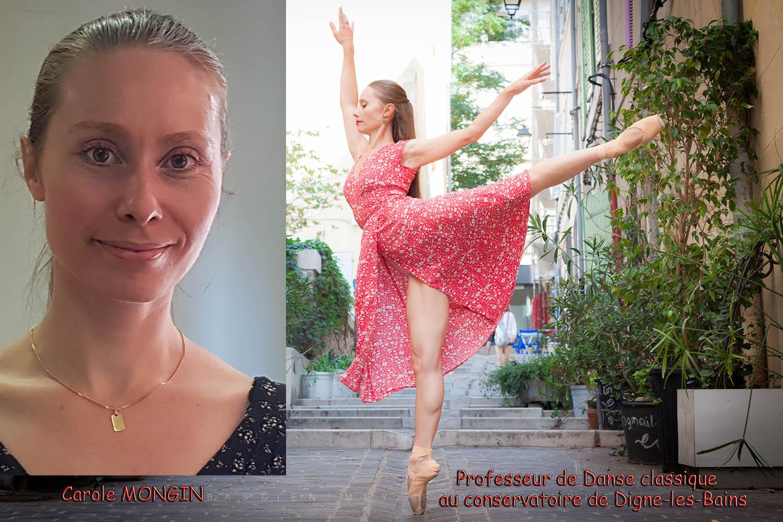 Carole Mongin Professeur de Danse classique