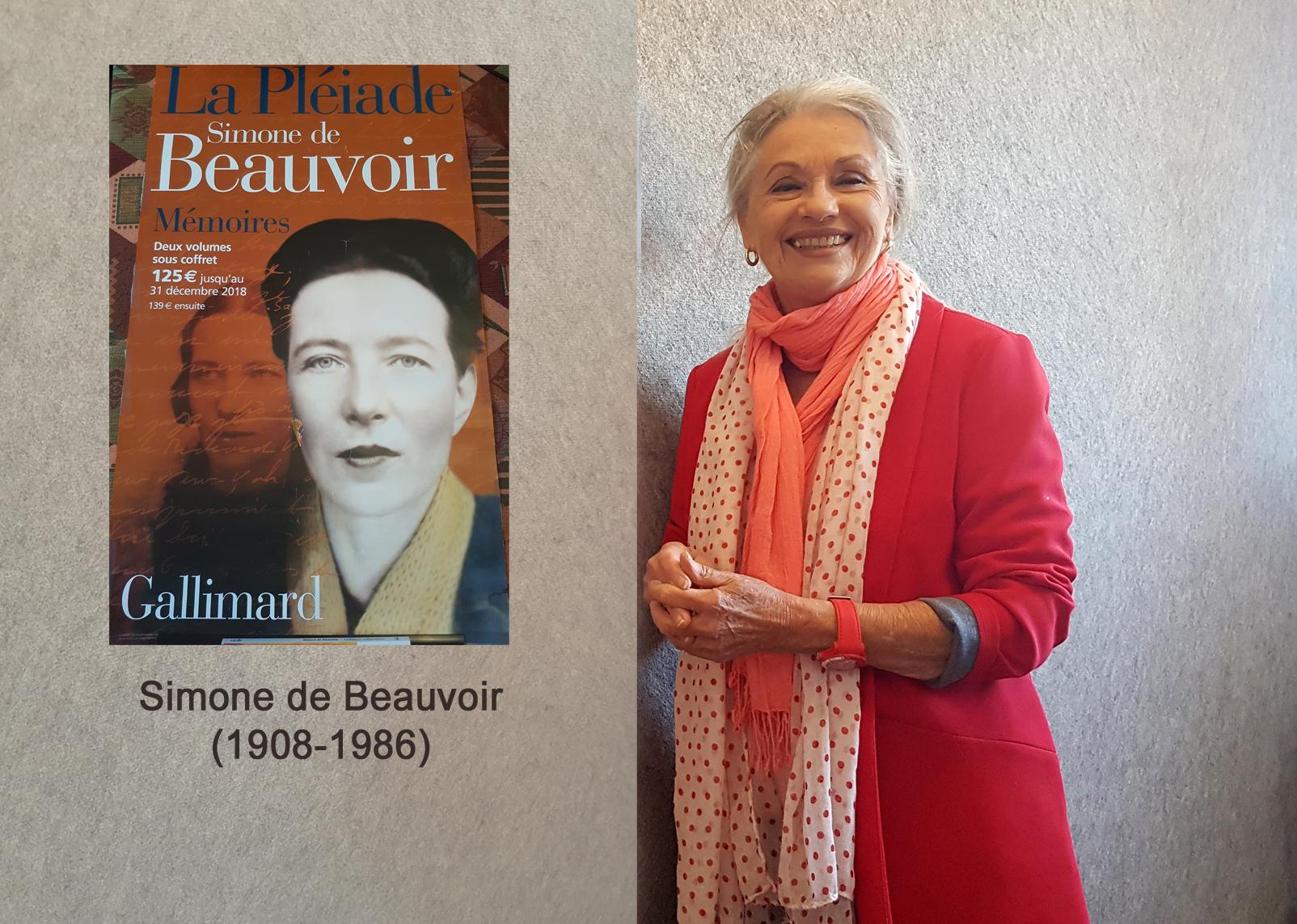 Simone de Beauvoir et Jacqueline Hennegrave