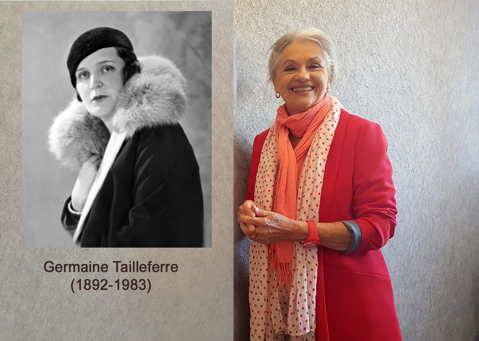 Germaine Tailleferre et Jacqueline Hennegrave